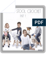 Animal Stool Crochet
