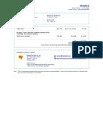 Ticket Invoice
