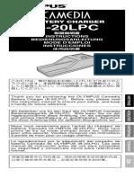 Manual - Olympus b 20lpc