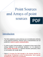 Ponit Sources of Array Ant. by Poonam Thanki