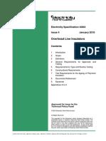 Es400 i4 Overhead Line Insulators