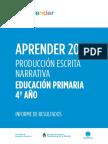 Infome Aprender 2017 Primaria