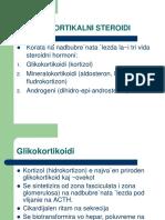 HORMONI  STEROIDI