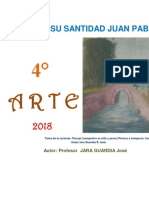 Educación Artística 4° secundaria -  Guía de práctica