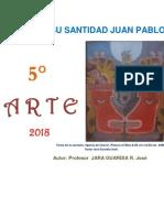 Educación Artística 5° secundaria -  Guía de práctica