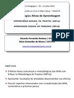 Metodologias Ativas - JULHO 2016
