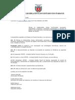 Stephanes Junior Jr Lei de Prevenção Ao Risco de Contaminação Alep 15952