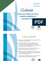 ESocial - Cartilha Empregador - Apresentação Menor Ana e Integrativa