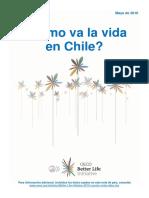 Cómo va la vida en chile OCDE