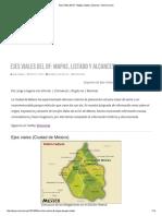 Ejes Viales Del DF_ Mapas, Listado y Alcances - Movimet