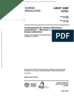 NBR 13781 Armazenamento de Líquidos Inflamáveis e Combustíveis