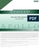 Apollo Global Management, LLC Nov Investor Presentation VFinal