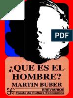 Buber qué es el hombre.pdf