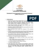 an Penerimaan Calon Karyawan S-1