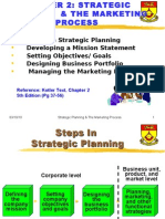Ch 2 Strategic Planning Mktg Process