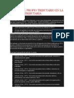 Capital Tributario en la Reforma