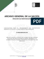 Convocatoria Ia-004ezn999-e45-2018 Servicio Programa_gestion Documental