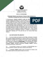 Edital Concuros TJMT - magistratura Estadual