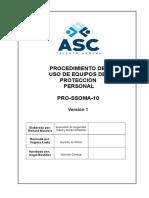 Pro-ssoma-10 Procedimiento de Uso de Epp