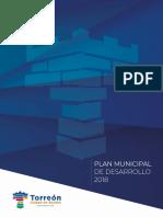 Plan Municipal de Desarrollo 2018