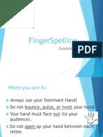 fingerspelling guidelines pp