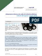 InfoTUB N 13-005 Cálculo de espesor del aislamiento de tuberías plásticas Dic'13.pdf