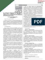 RESOLUCION MINISTERIAL N° 207-2018-TR