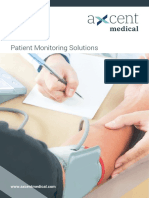 Axcent Brochure Patient Monitoring 2018
