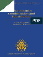 (International series of monographs on physics 164) Pitaevski, Lev_ Stringari, Sandro-Bose-Einstein Condensation and Superfluidity-Oxford University Press (2016).pdf
