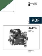 Rexroth 28250 Pump and Service Manual