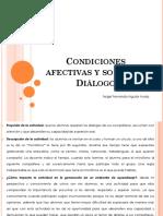 Condiciones Afectivas y Sociales