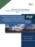 Proyecto de Adaptación Al Impacto Del Retroceso Acelerado de Glaciares en Los Andes Tropicales, (Praa) (1)