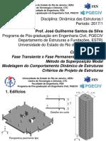 [PGECIV] Dinâmica Das Estruturas I