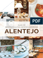 Guia de Restaurantes Certificados-turismo Do Alentejo