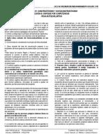 CEFICAD - SEMANA 01 y 02 Conocimientos Pedagógicos Autoevaluación