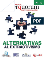 20160315 Revista IQ 19 Transiciones y Alternativas Al Extractivismo