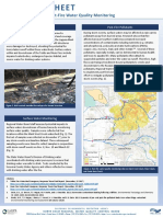 North Coast Regional Water Board Fire Response Monitoring Results Fact Sheet