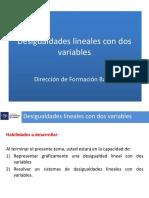 DesigualdadesLineales Con Dos Variables