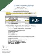 Aviso de Reinscripciones 2018-2019