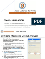 Catedra 10 - Statistical Analysis (Process Analyser & Optquest) Rev1