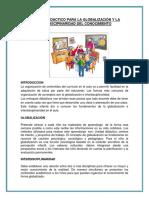 Enfoque Didactico Para La Globalización y La Interdiscipinaridad Del Conocimiento