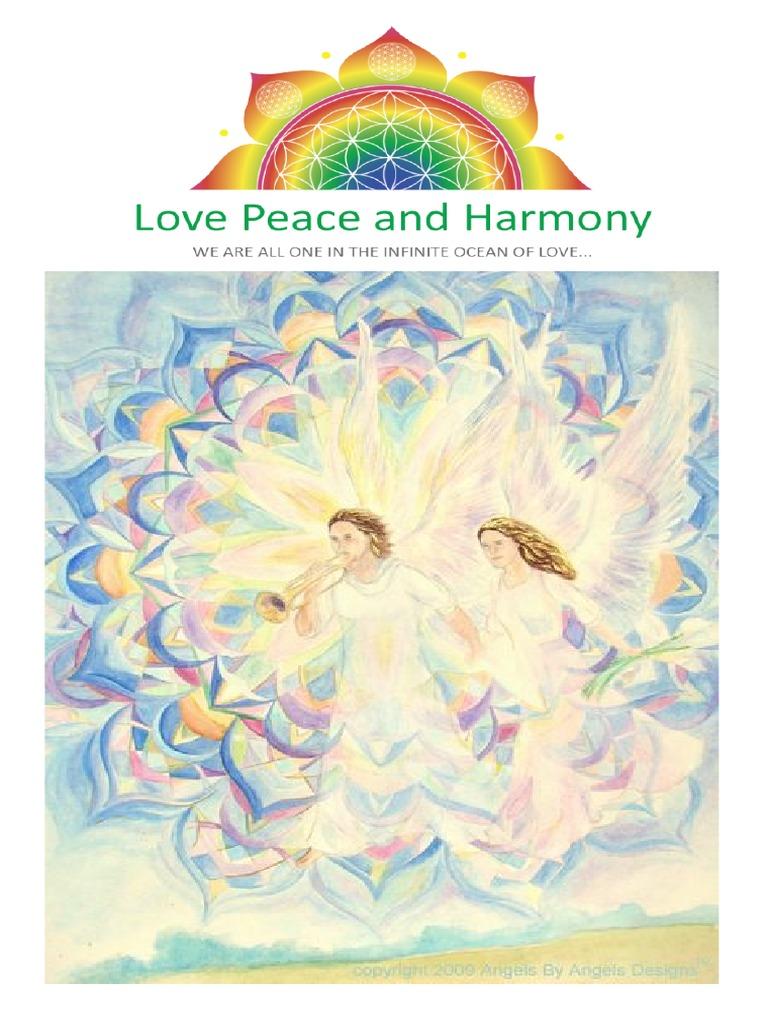 34 1 30 Nisan 2011 Love Peace And Harmony Journal Massage Soul