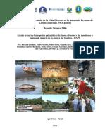 Conservación de la Vida Silvestre en la Amazonia Peruana de Loreto
