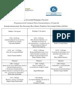 Programacion Final Seminario Ética Fenomenológica y Formación c