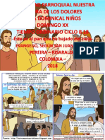 HOJITA EVANGELIO NIÑOS DOMINGO XX TO B 18 SERIE