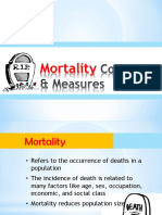 MORTALITY Concepts & Measures.ppt