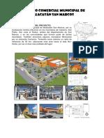 El Centro Comercial Municipal de Malacatán San Marcos