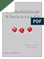 PROBABILIDADE UNIVARIADA
