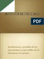 Autoinmunidad 2013