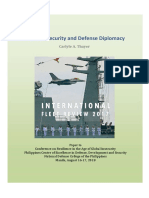 Thayer Regional Security and Defence Diplomacy